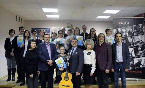 Городской конкурс юных исполнителей на классической гитаре 3.03.2019 г.