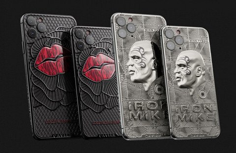 В России выпустили iPhone с частицами вещей Майка Тайсона и Мэрилин Монро