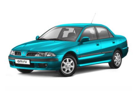 Багажники на Mitsubishi Carisma седан 1995-2003