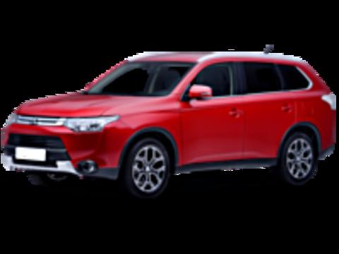 Багажники на крышу Mitsubishi Outlander III 2012-2019 штатные места