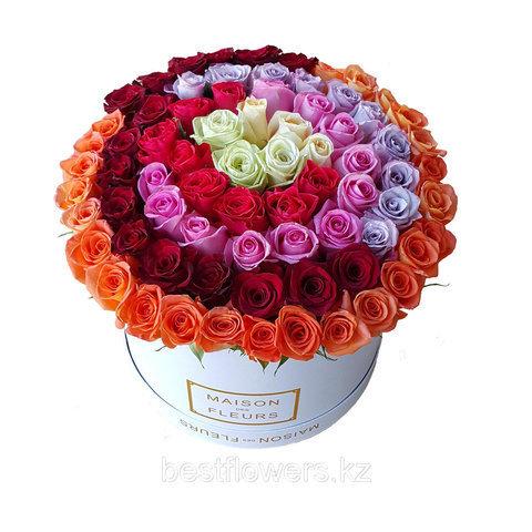 Коробки с цветами