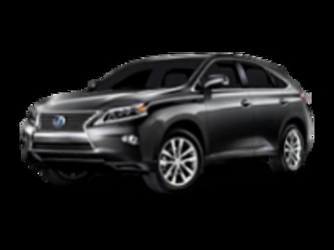 Багажники на Lexus RX RX III 2009-2015 на рейлинги