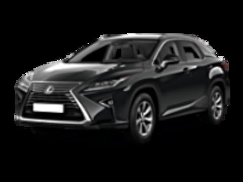Багажники на Lexus RX RX IV 2015-2019 низкий рейлинг
