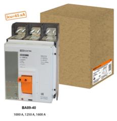 Автоматические выключатели серии ВА89-40