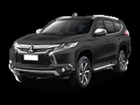 Багажники на крышу Mitsubishi Pajero Sport III 2016-2019 низкие рейлинги