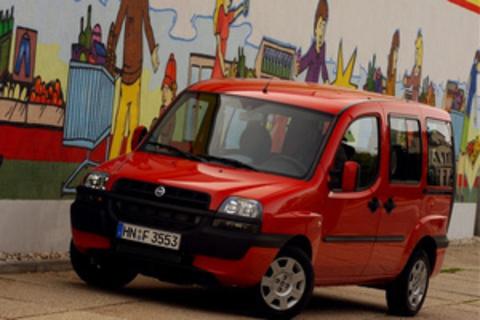 Багажники на Fiat Doblo I 2000-2015 штатные места