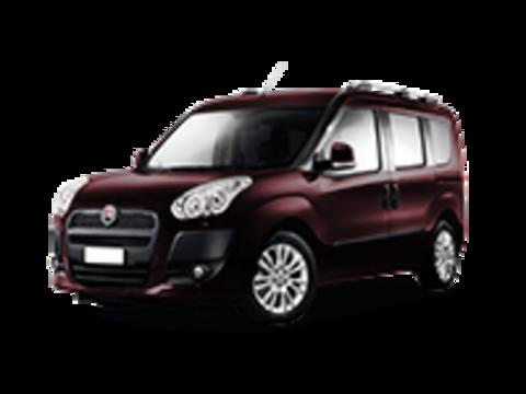 Багажники на Fiat Doblo I 2000-2015 на рейлинги