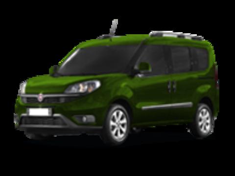 Багажники на Fiat Doblo II 2010-2019 на рейлинги