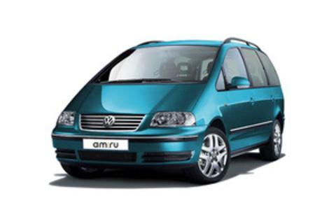 Багажники на Volkswagen Sharan II 2010-2019 на рейлинги