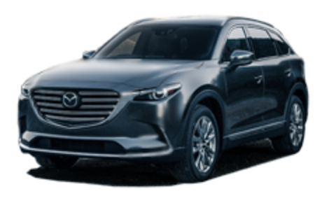 Багажники на Mazda CX-9 II 2016-2019 штатное место
