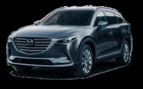 Багажники на Mazda CX-9 II 2016-2020 за дверные проемы