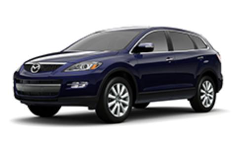 Багажники на Mazda CX-9 I 2006-2016 штатное место