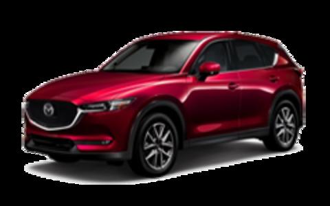 Багажники на Mazda CX-5 II 2017-2019 штатное место