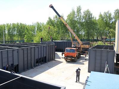 Строительство очистных сооружений бытовых и промышленных сточных вод