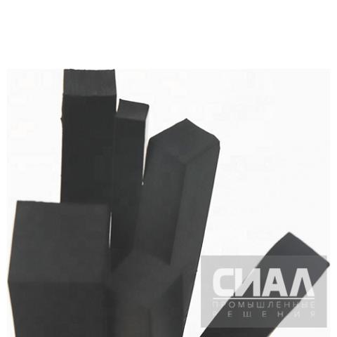 Шнуры уплотнительные прямоугольного (квадратного) сечения