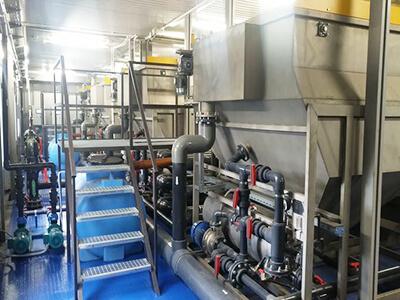 Очистка сточных вод молочных производств