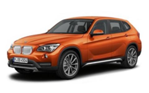 Багажники на BMW X1 E84 2010-2015 на штатные места