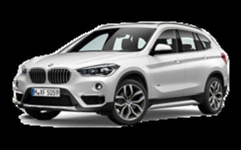 Багажники на BMW X1 F48 2016-2019 на низкие рейлинги