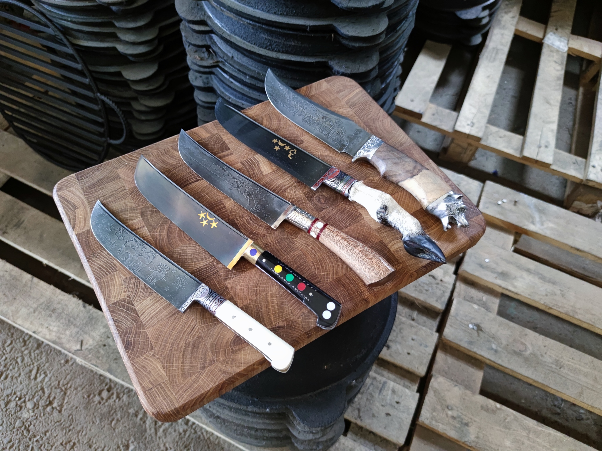 Узбекские ножи (пчаки)