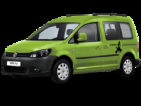 Багажники на Volkswagen Caddy III 2010-2015 рейлинги