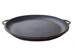 Чугунная крышка-сковорода