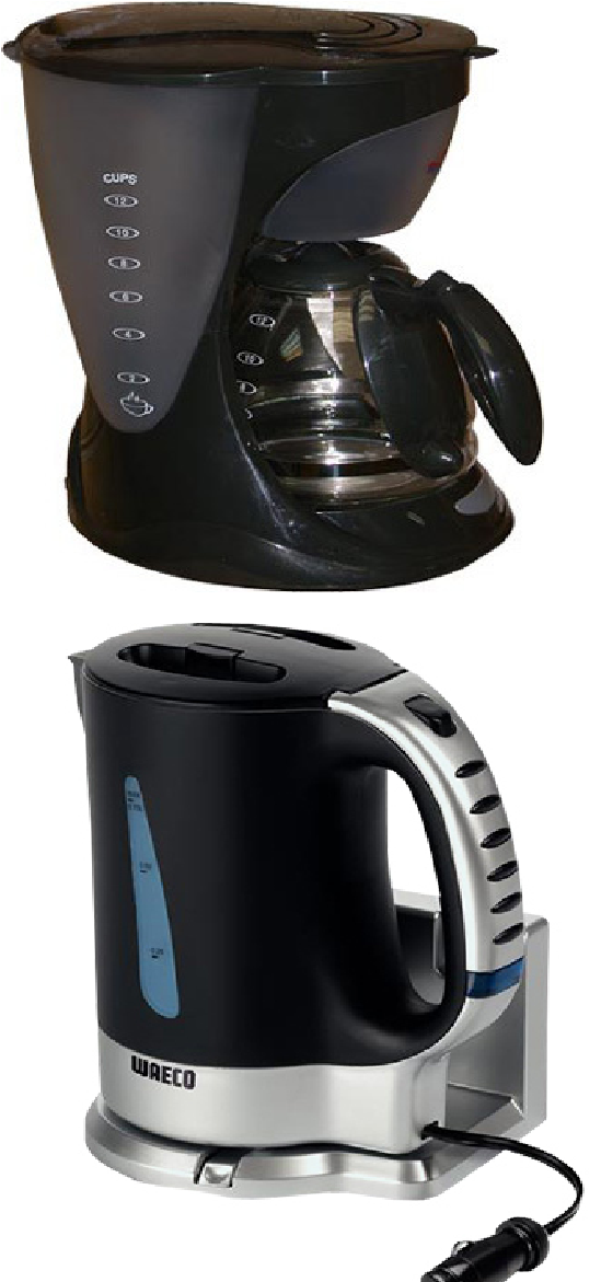 Автомобильные кофеварки и чайники
