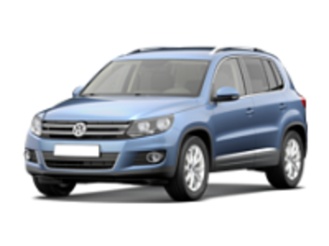 Багажники на Volkswagen Tiguan I 2007-2016