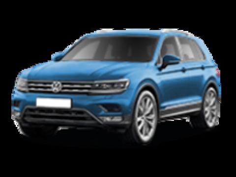 Багажники на Volkswagen Tiguan II 2016-2019