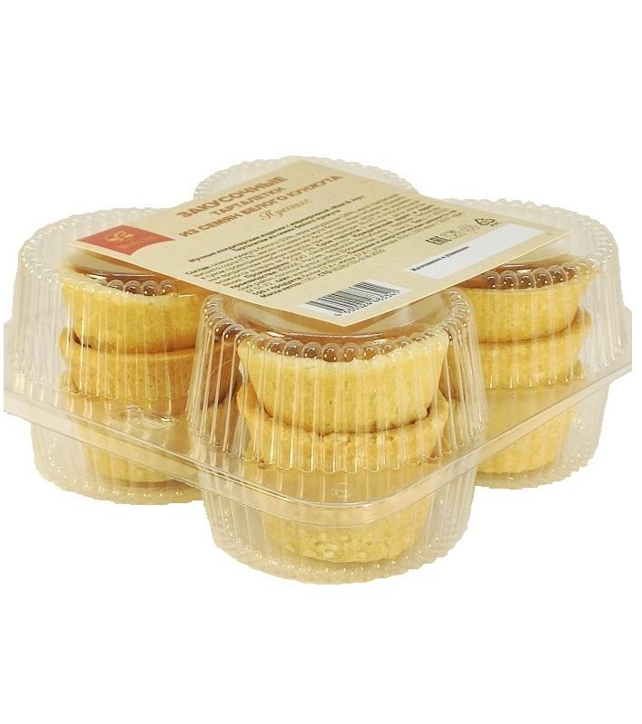 Тарталетки из орехов и семян