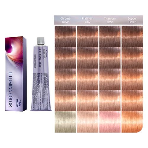 Палитра Wella Professional Illumina Color