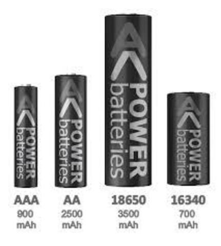 Аккумуляторы R6/AA/316