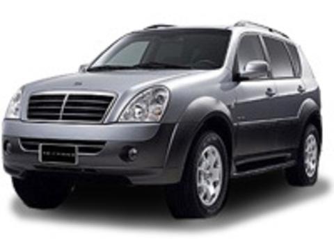 Багажники на Ssang yong Rexton II 2007-2012 на рейлинги