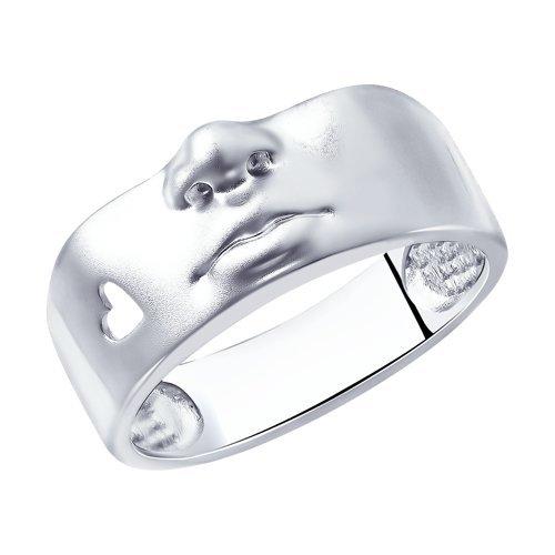 Серебряные кольца без вставок