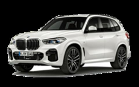 Багажники на BMW X5 G05 низкие рейлинги