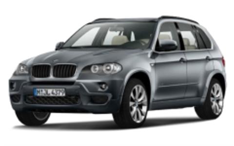 Багажники на BMW X5 E70 на рейлинги 2006-2013