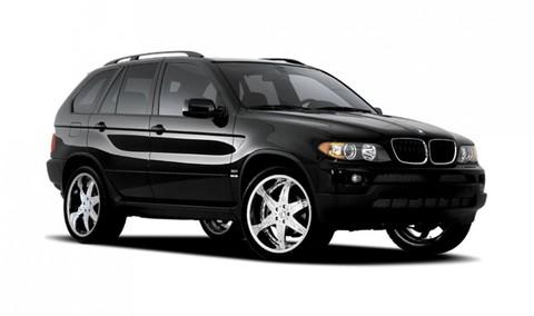 Багажники на BMW X5 E53 на рейлинги 2000-2007