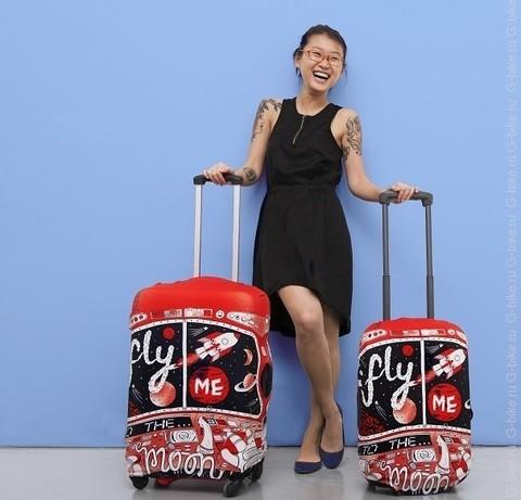 Чехлы для больших чемоданов