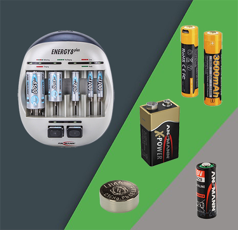 Батарейки, аккумуляторы, зарядки, тестеры
