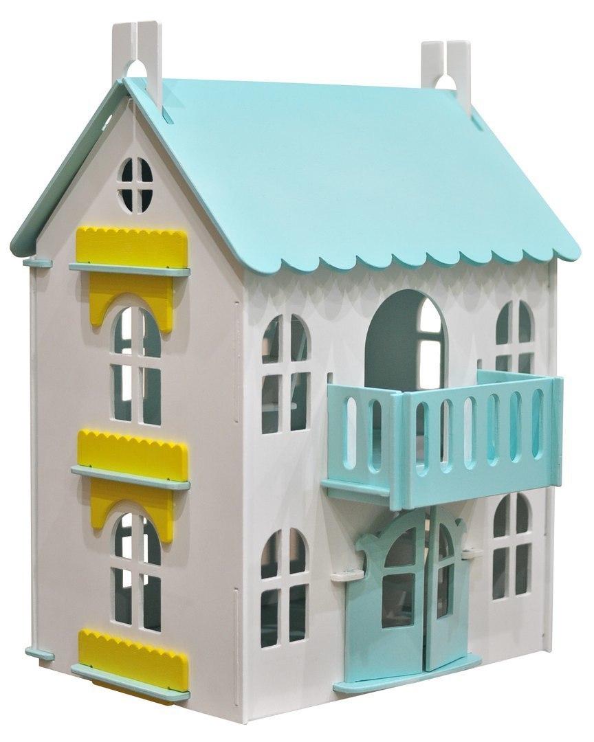 Деревянные домики для кукол и гаражи