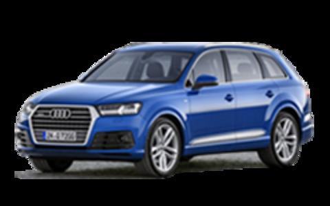 Пороги на Audi  Q7 2015-...