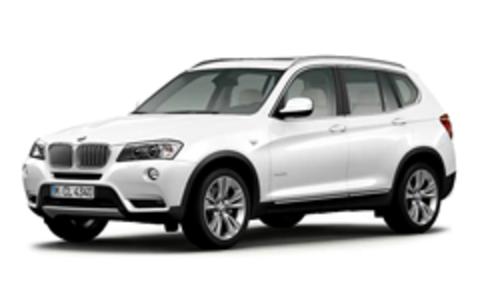 Пороги на BMW X3 2014-...