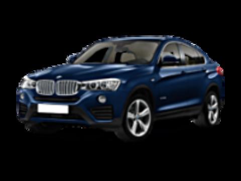 Пороги на BMW X4 2014-...