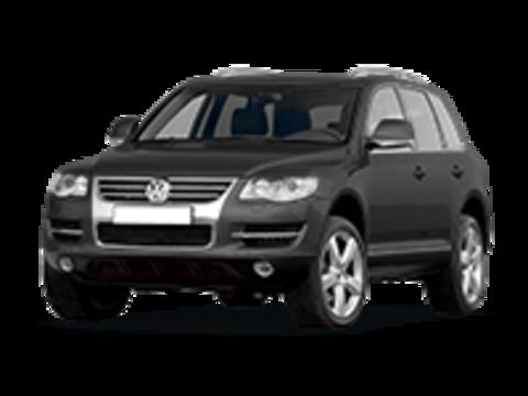 Багажники на Volkswagen Touareg I 2002-2010 на рейлинги