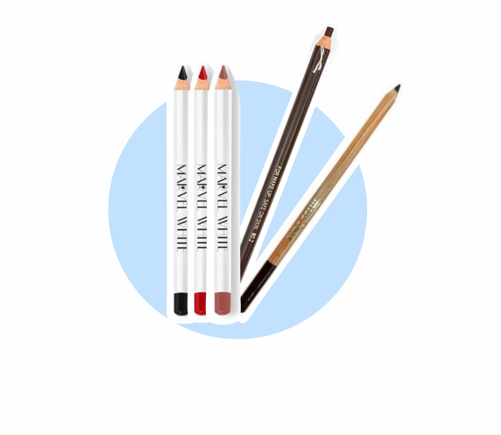 Карандаши, маркеры для отрисовки эскиза