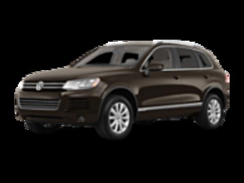 Багажники на Volkswagen Touareg II 2010-2019 на рейлинги