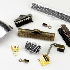 Концевики для плоских шнуров и лент