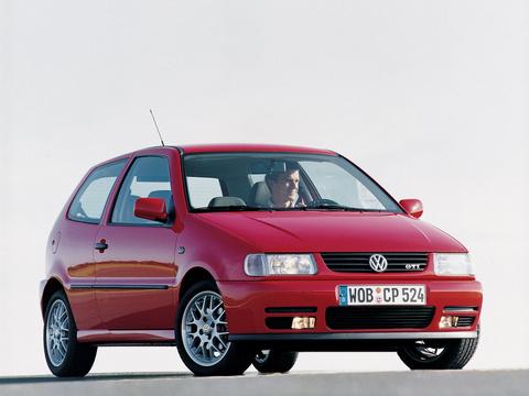 Багажники на Volkswagen Polo III 1997-2001 3д-5д штатные места