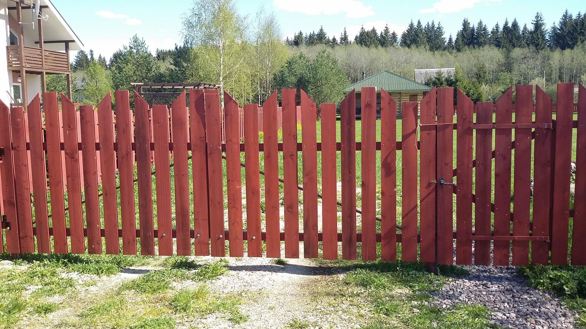 Ограждение и забор