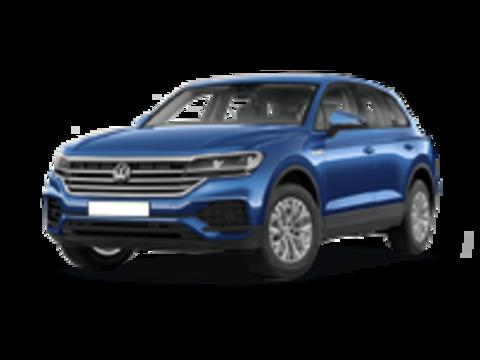 Багажники на Volkswagen Touareg III 2018-2019 на низкие рейлинги