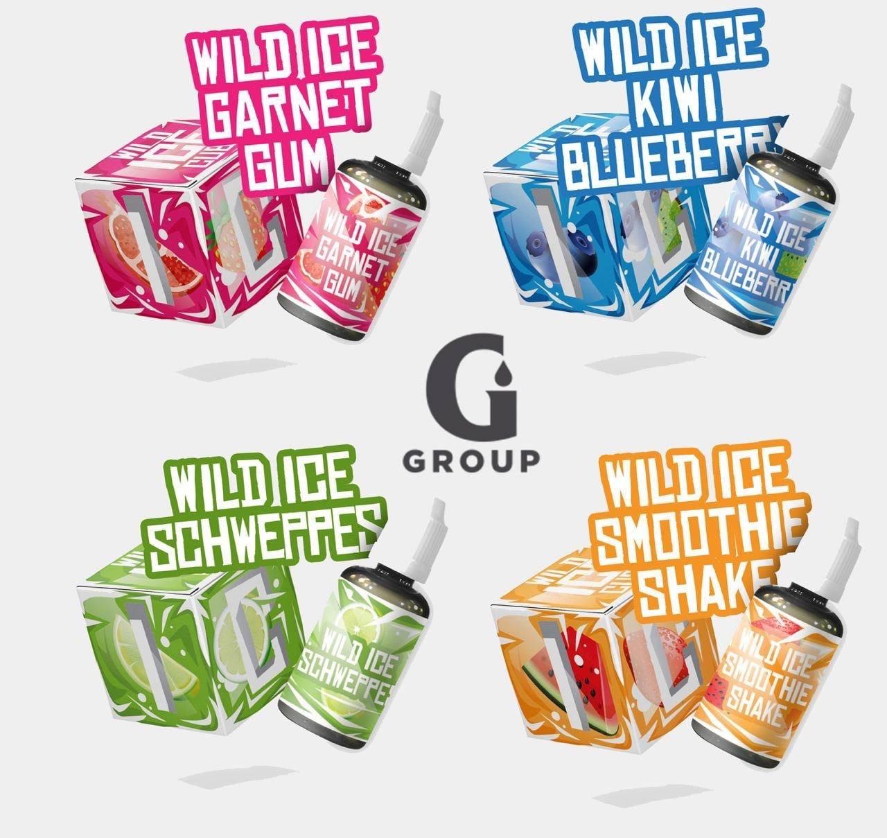 Wild ICE Cube SALT by GAS